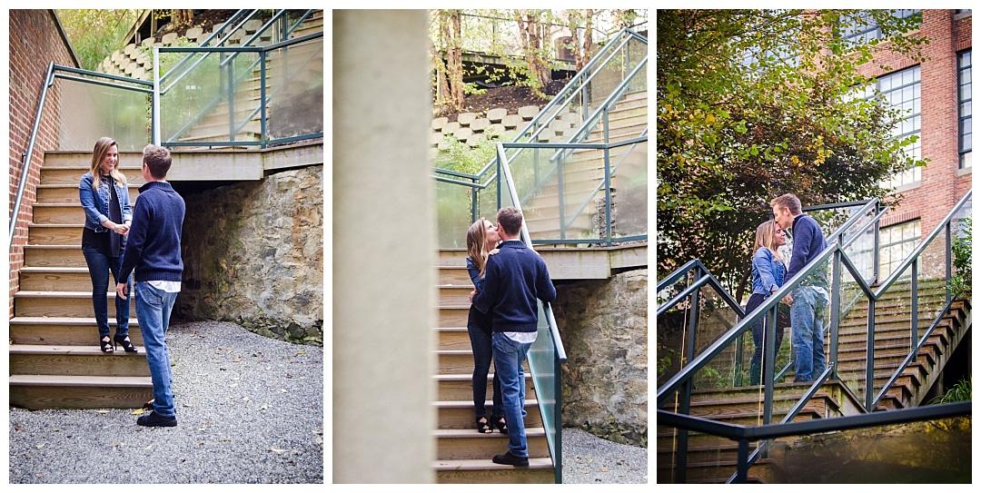 Oella Mill Engagement Photos