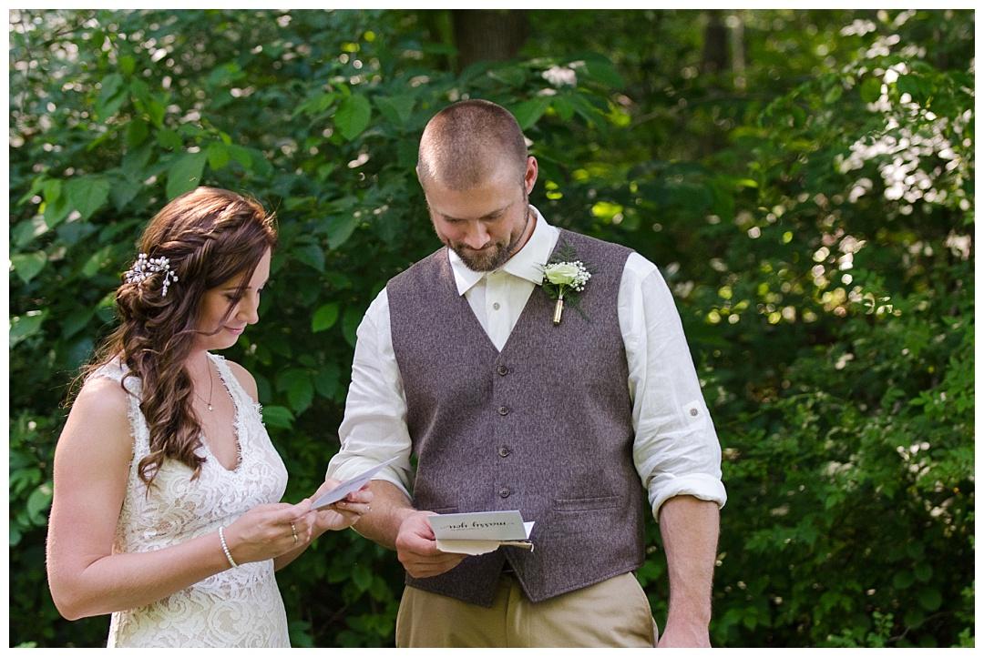 Maryland Forest Wedding Photos | Aaron Haslinger Photography