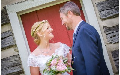 Deanna + Zach | Ostertag Vistas Farm Wedding Photos | Maryland Wedding Photographer