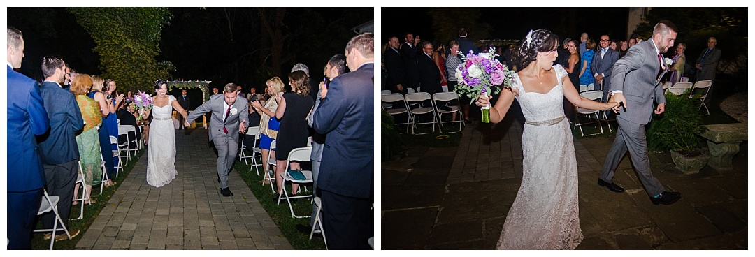 Overhills Mansion wedding ceremony