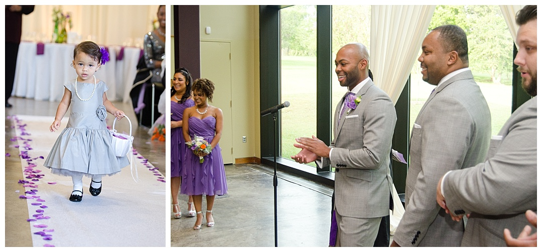 Cylburn Arboretum wedding ceremony