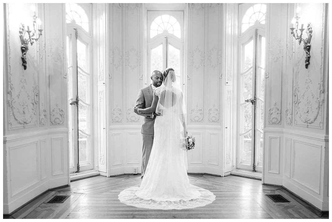 Cyburn Arboretum wedding photo