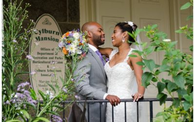 Chantel + Israel | Cylburn Arboretum Wedding Photos | Baltimore Wedding Photographer