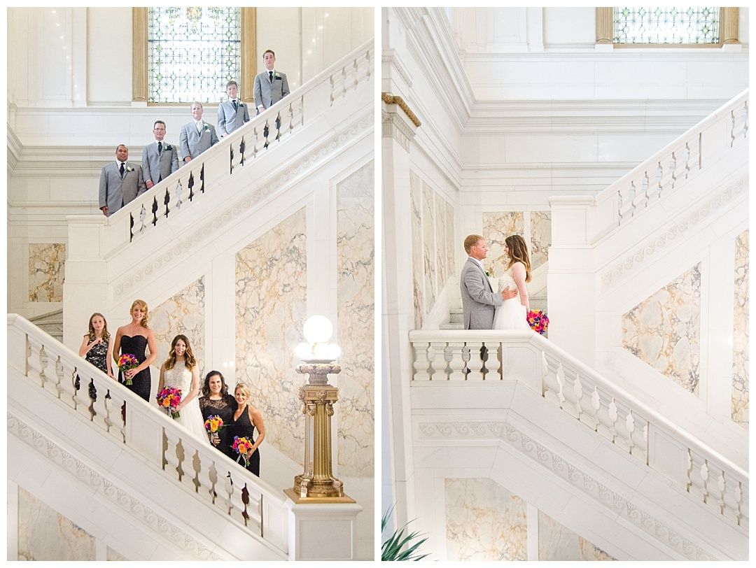 Hotel Monaco wedding photos