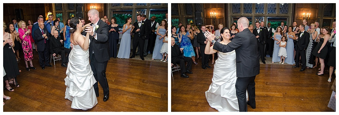 wedding dancing Maryvale Castle