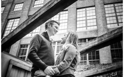 Amy + Chris | Oella Mill Engagement Photos | Baltimore Wedding Photographer