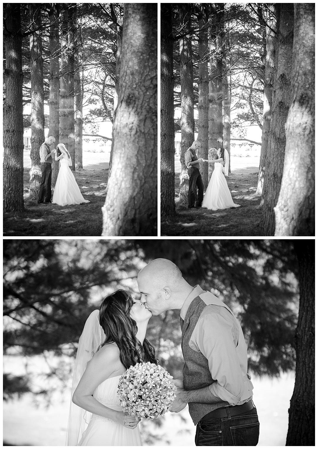 Piney Branch Golf Club bride groom wedding