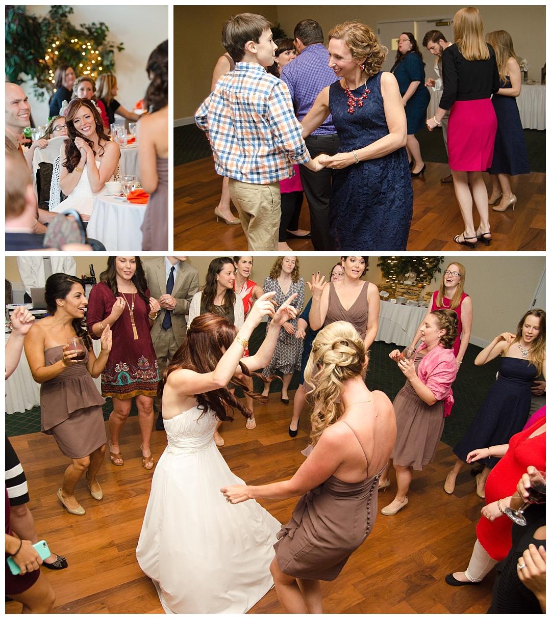 Piney Branch Golf Club wedding reception dancing
