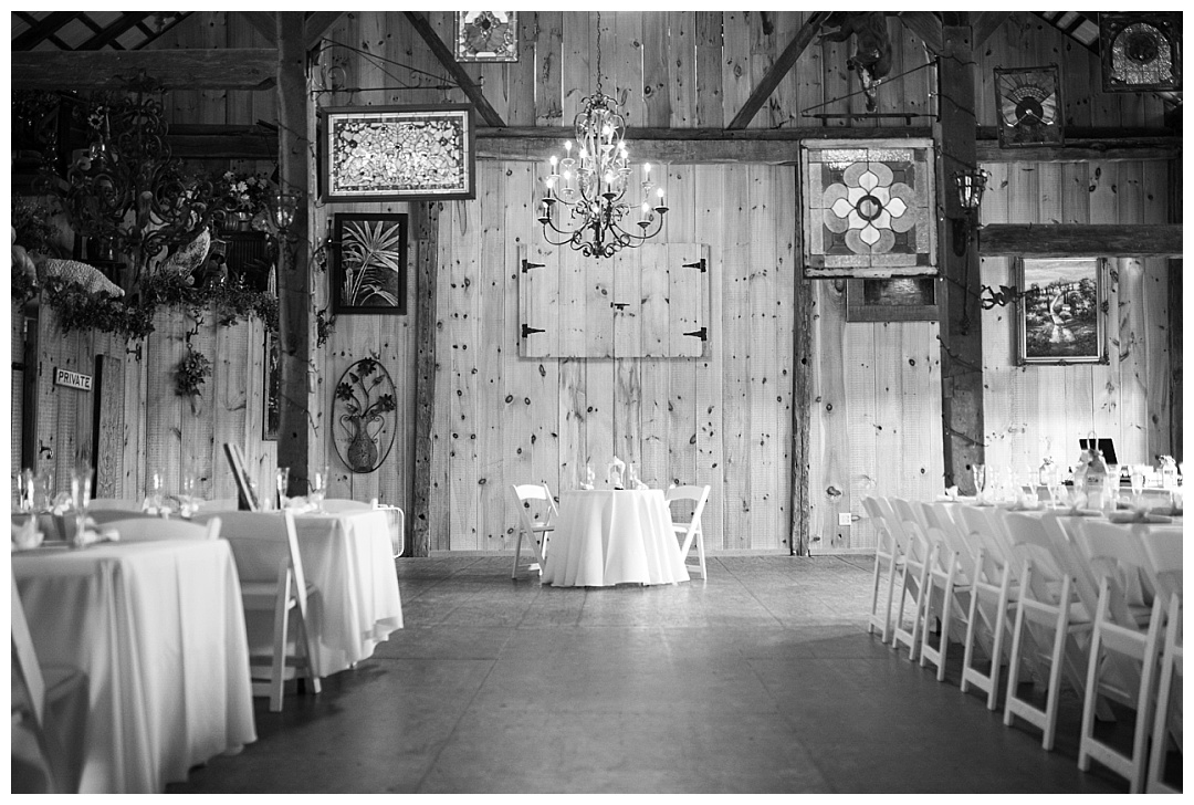 Spring Hill Manor wedding reception
