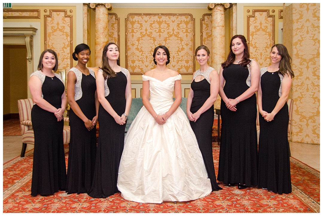 bride bridesmaids The Grand Historic