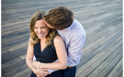 Amy + Chris | Tide Point Engagement Photos | Baltimore Wedding Photographer
