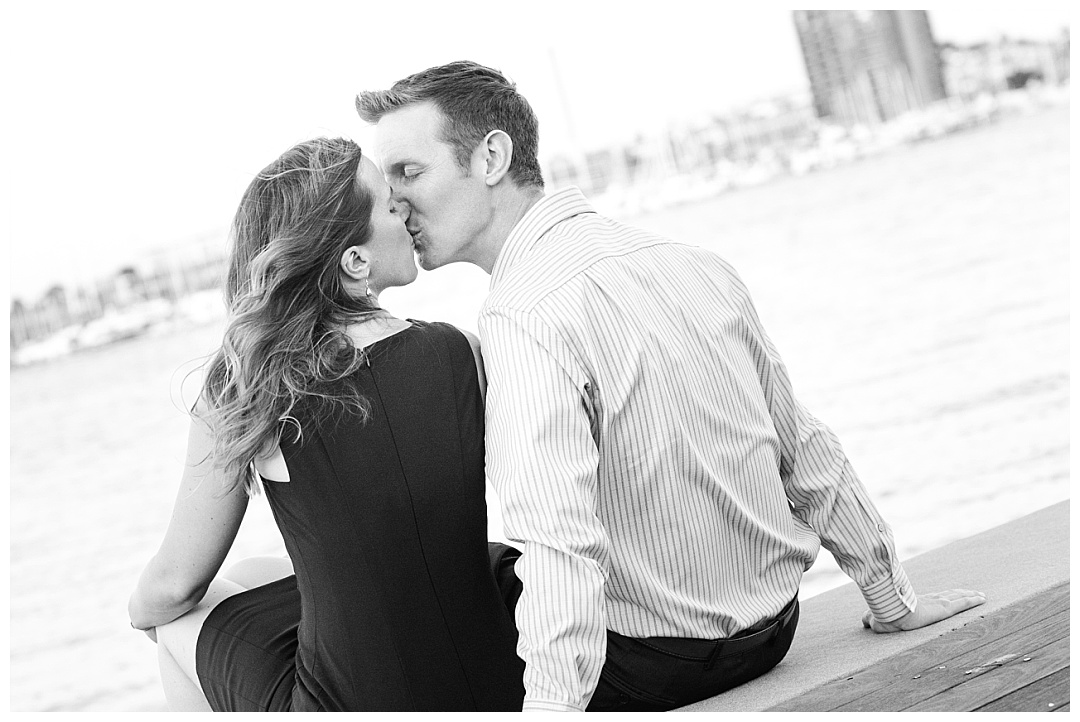 Baltimore Inner Harbor Tide Point engagement photos