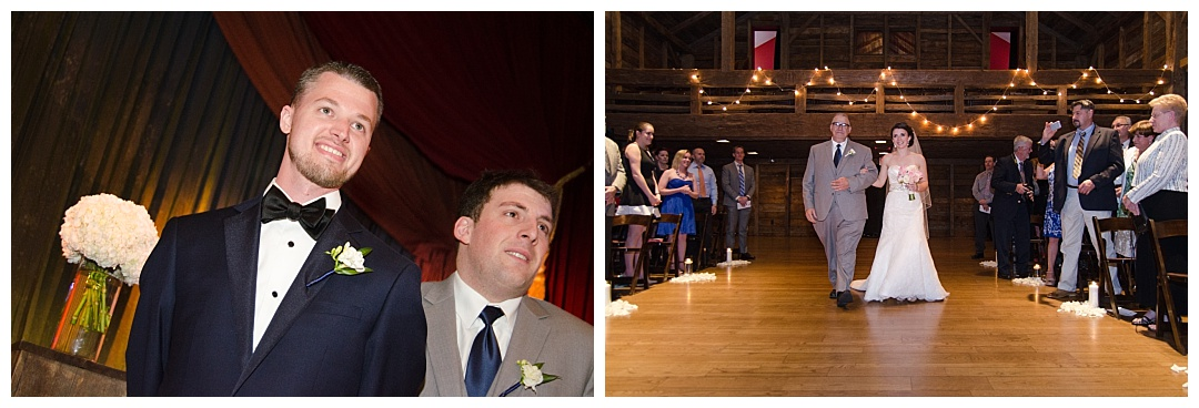 Wolftrap Wedding ceremony