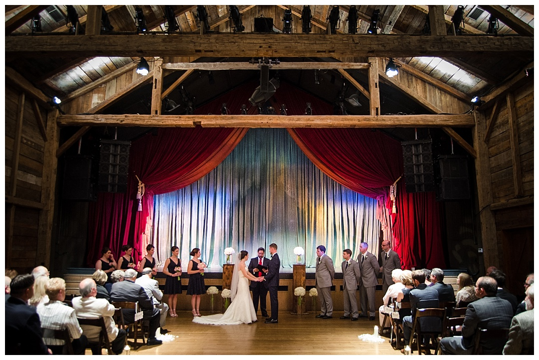 Wolftrap Wedding ceremony Photos