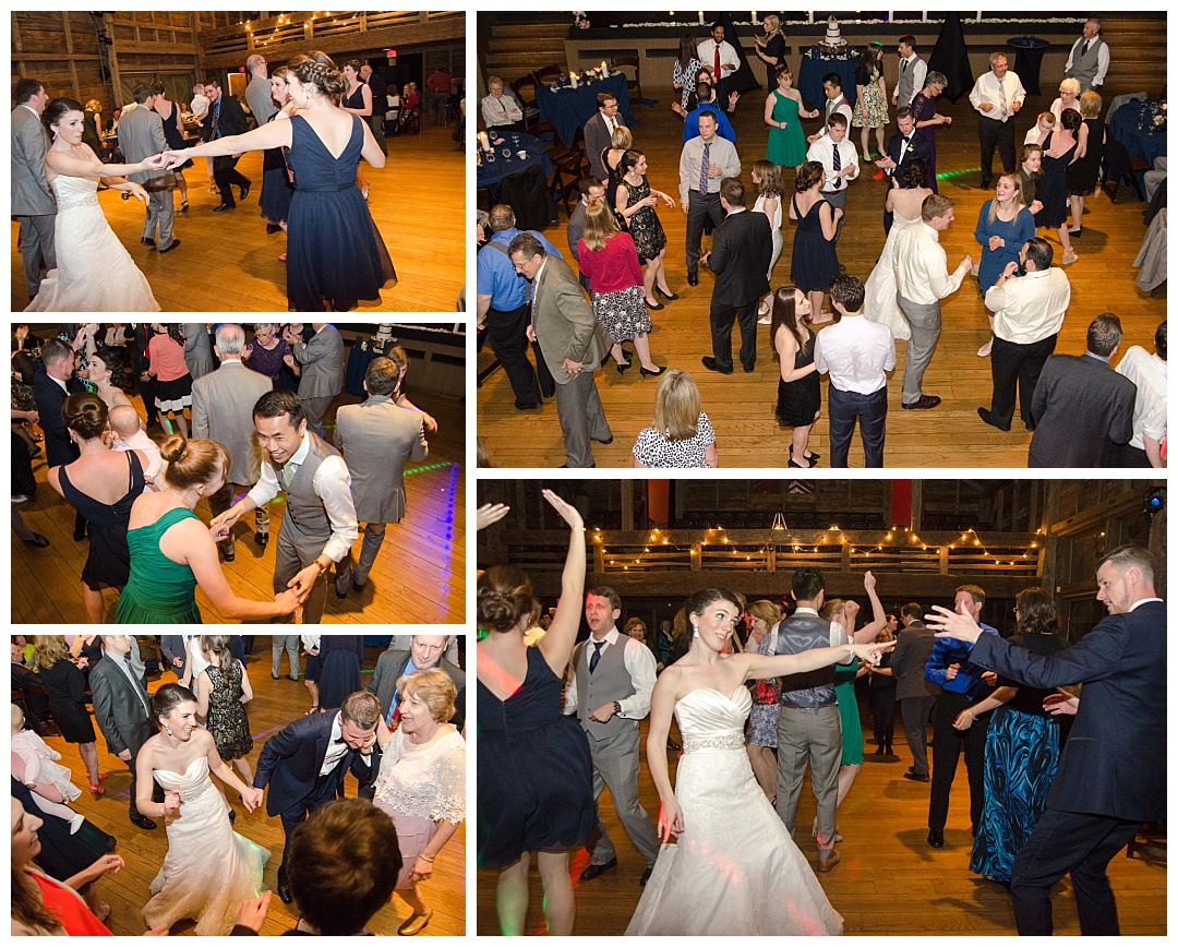 Wolftrap wedding reception Photos