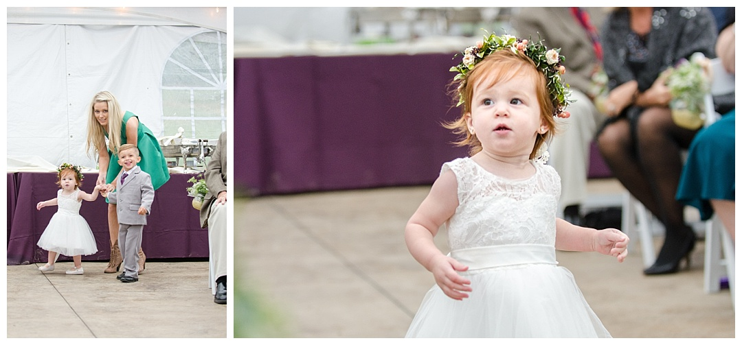 Glen Ellen Farm Wedding ceremony