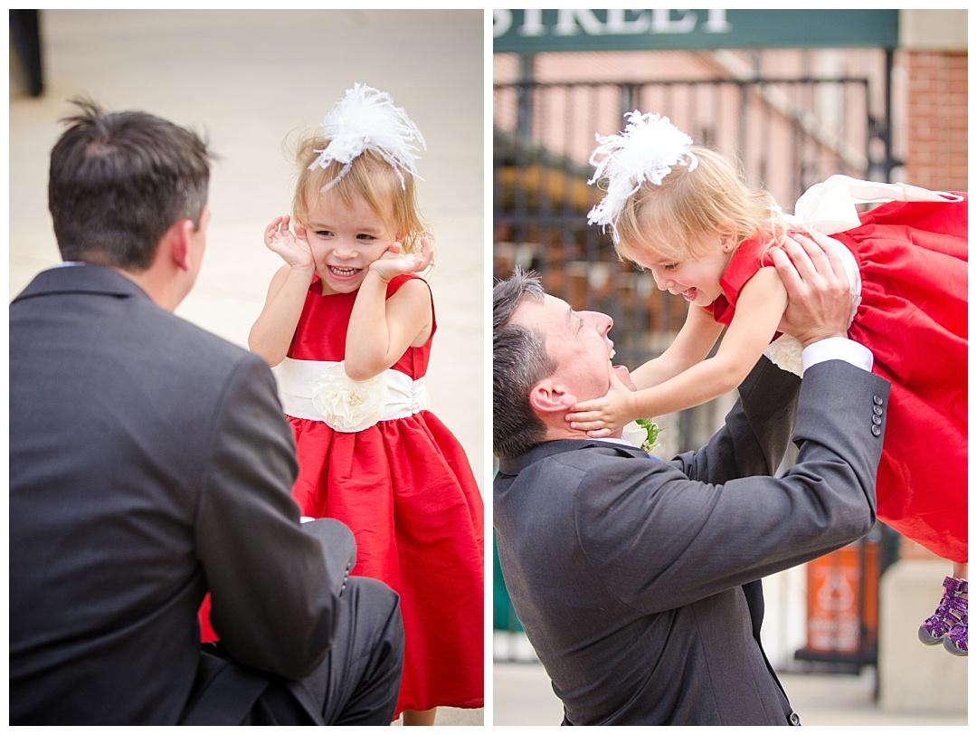 Camden Yards Wedding Photos | Aaron Haslinger Photography