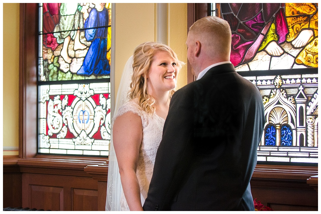 College of Notre Dame Wedding Photos | Aaron Haslinger Photography