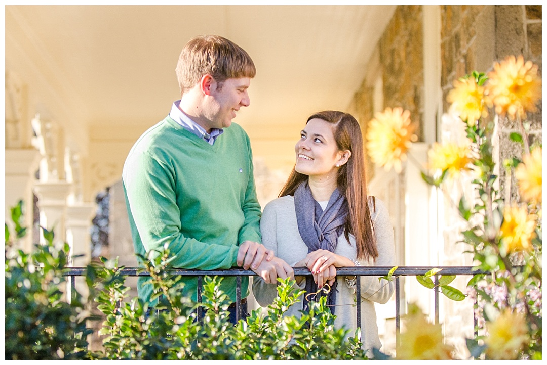 Engagement Photos at Cylburn Arboretum | Aaron Haslinger Photography