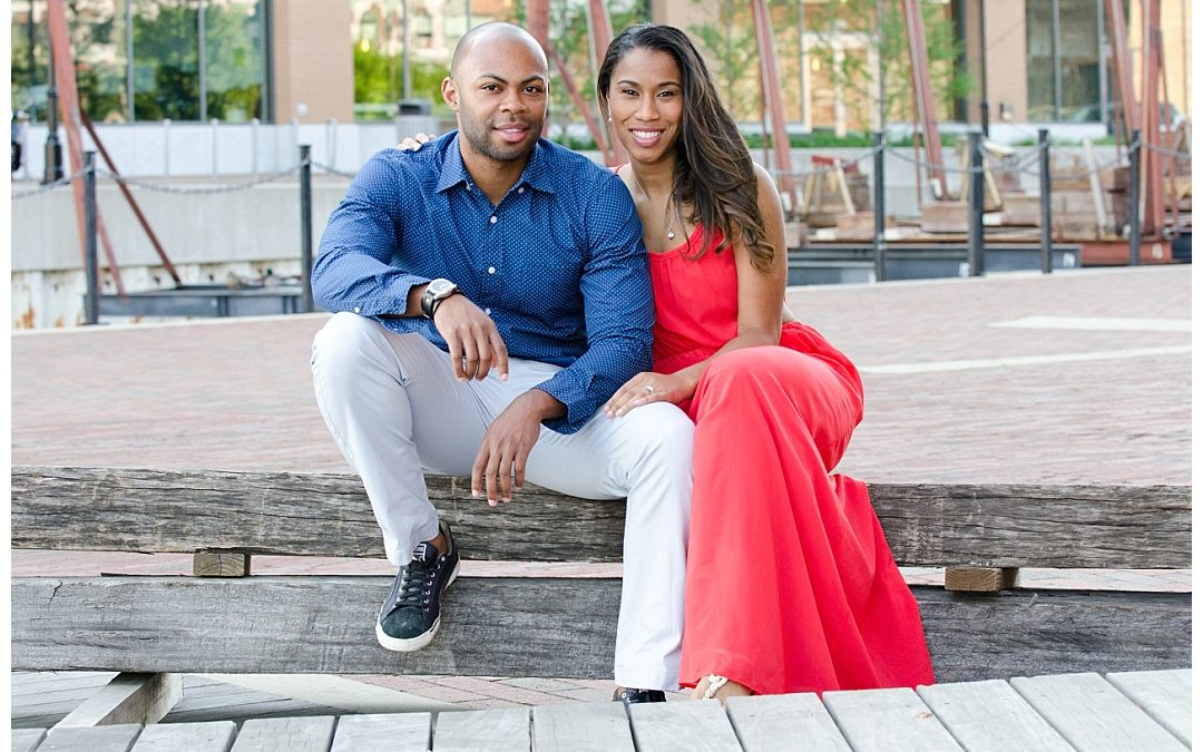 Chantel + Israel | Fells Point Engagement Session | Baltimore Wedding Photographer