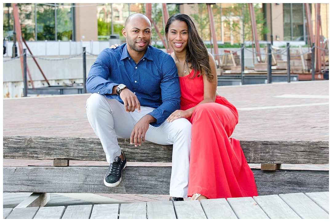 Fells Point Engagement Photos | Aaron Haslinger Photography