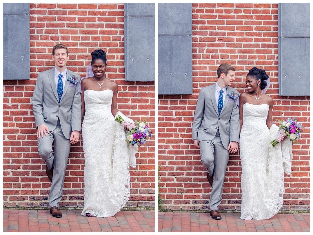 Frederick Douglass Isaac Myers Maritime Park Wedding Photos   Aaron Haslinger Photography