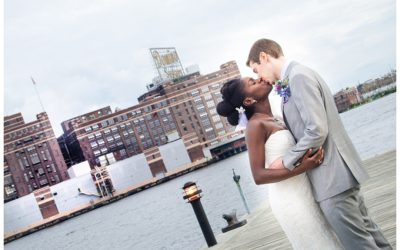Devona + Daniel | The Frederick Douglass Isaac Myers Maritime Park Wedding Photos | Baltimore Wedding Photographer
