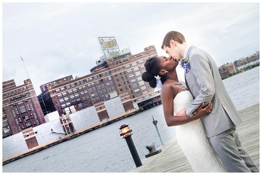 Frederick Douglass Isaac Myers Maritime Park Wedding Photos | Aaron Haslinger Photography