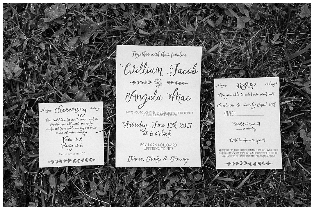 Maryland Forest Wedding Photos | Aaron Haslinger Photography