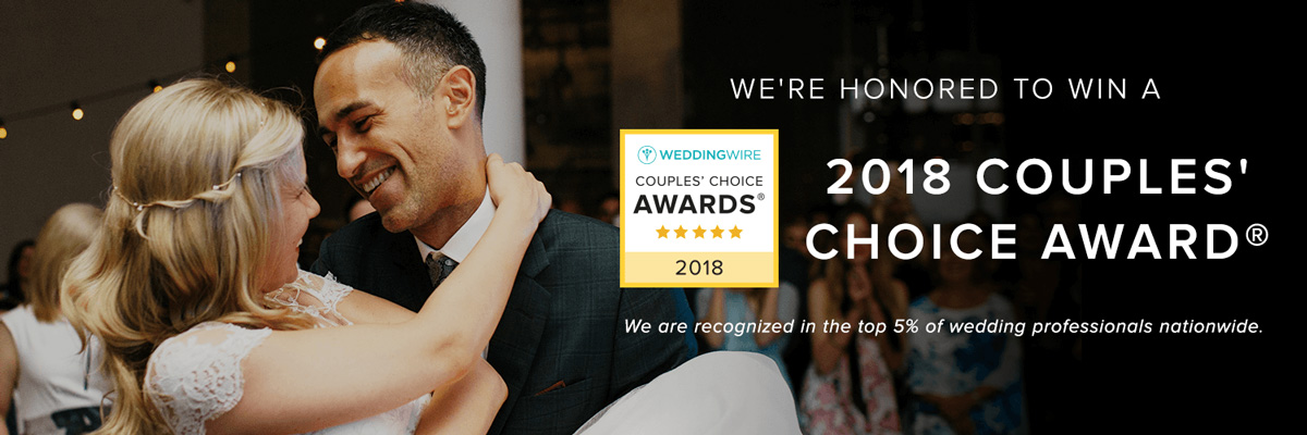 2017 Wedding wire Couple's Choice Award